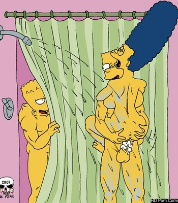 Porn Comics - Shower Fun Porn Comic