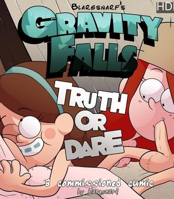 Porn Comics - Gravity Falls – Truth Or Dare Porn Comic
