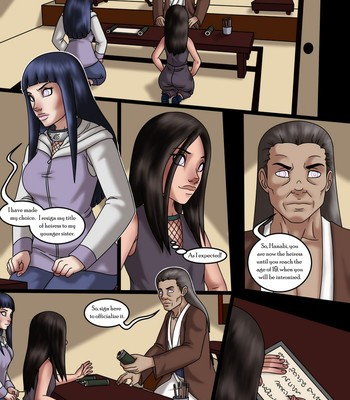 The Fate Of The Hyuga Sisters Porn Comic 001