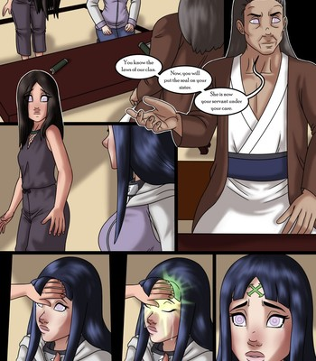 The Fate Of The Hyuga Sisters Porn Comic 002
