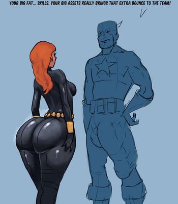 Porn Comics - Black Widow And Her Informant Sex Comic