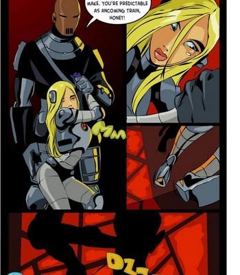 Slade And Terra Porn Comic 005