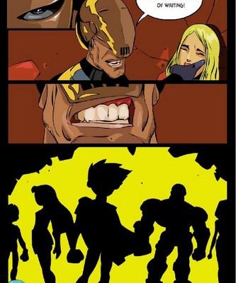 Slade And Terra Porn Comic 020