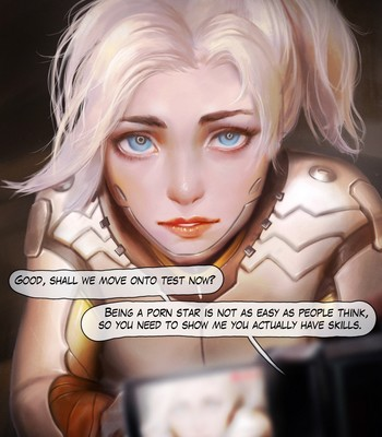 Mercy - The First Audition Porn Comic 006