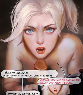 Mercy - The First Audition Porn Comic 025