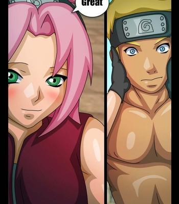 Naruto & Sakura Cartoon Porn Comic