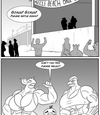 Porn Comics - A Heated Debate Porn Comic