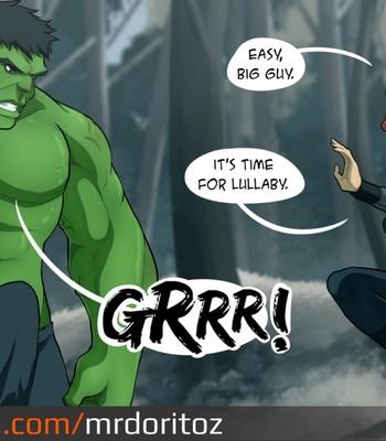 Avengers - Age Of Ultron Porn Comic 002