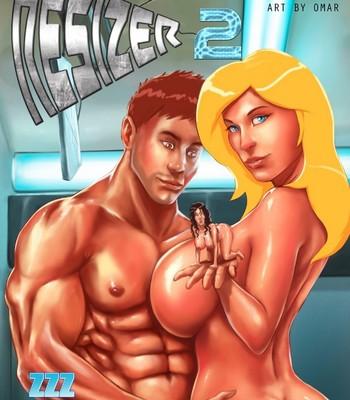 Porn Comics - The Resizer 2 Porn Comic