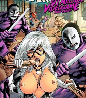 Porn Comics - Spider-Man – The '91 Arcade Video Game Cartoon Comic