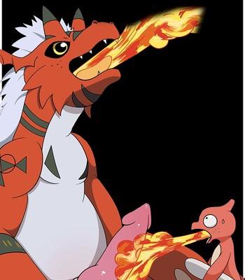 Porn Comics - Digimon vs Pokemon Cartoon Porn Comic