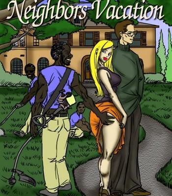 Porn Comics - Neighbors Vacation Sex Comic