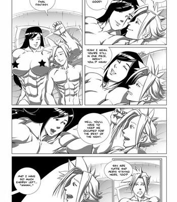 Tifa & Cloud 2 - Ride Of Your Life Cartoon Porn Comic