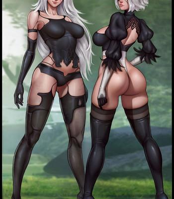 Porn Comics - Waifunator 2 – Nier Automata Cartoon Porn Comic