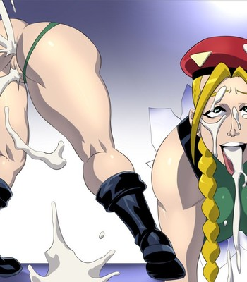 Cammy Stuck In The Wall Porn Comic 009