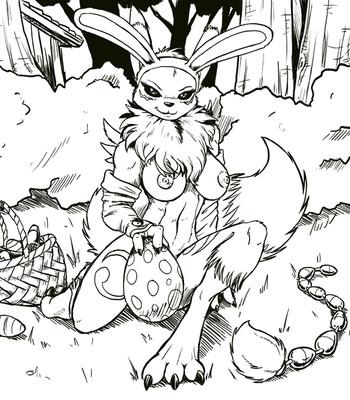 Porn Comics - Easter Renamon Cartoon Porn Comic