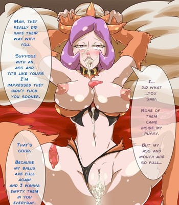 Trick Or Treat - Courtney Porn Comic