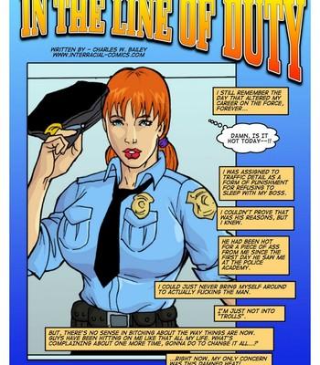 Porn Comics - In The Line Of Duty Cartoon Comic