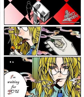 Crimson - Alucard x Integra Porn Comic 002
