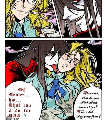 Crimson - Alucard x Integra Porn Comic 004