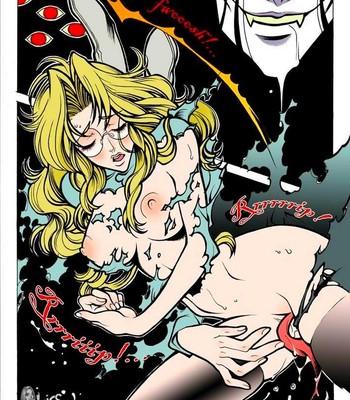 Crimson - Alucard x Integra Porn Comic 009