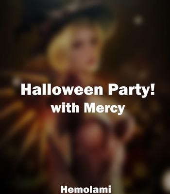 Porn Comics - Halloween Party With Mercy Cartoon Porn Comic