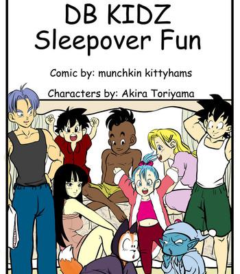 Porn Comics - Sleepover Fun Porn Comic