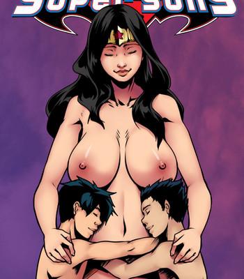 Porn Comics - Super Sons 2 Cartoon Porn Comic