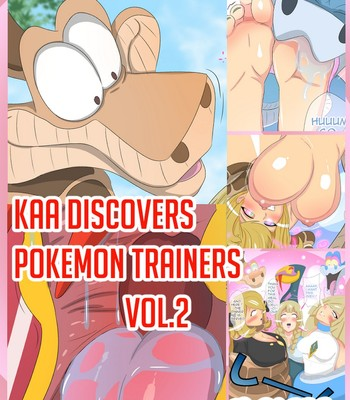 Porn Comics - Kaa Discovers Pokemon Trainers 2 Cartoon Porn Comic