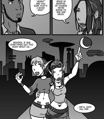 Linburger 5 - Pursuit Cartoon Porn Comic