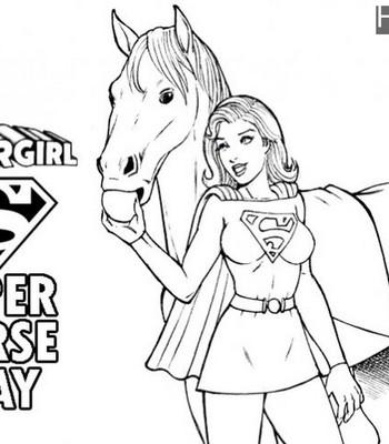 Super Horse Play Porn Comic 001