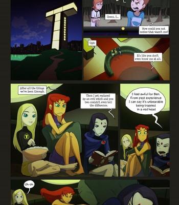Porn Comics - A Few Less Titans Cartoon Porn Comic