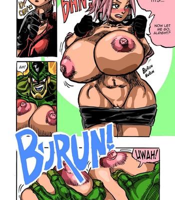 Sakura X Cell Porn Comic 002