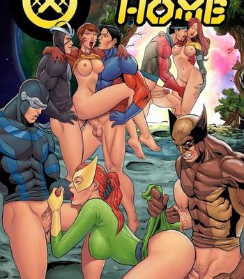 Porn Comics - House Of XXX – Summer Home Cartoon Porn Comic