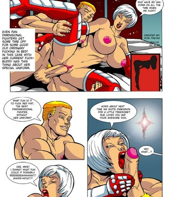 Omega Fighters 3 - Red Fist VS Polly Punch Porn Comic 002