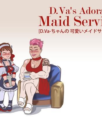 Porn Comics - D.Va's Adorable Maid Service Sex Comic