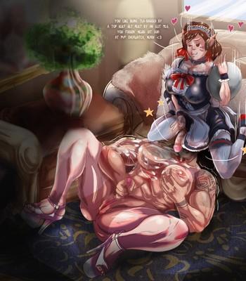D.Va's Adorable Maid Service Porn Comic 005