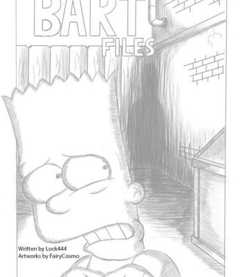 Porn Comics - The Bart Files Sex Comic