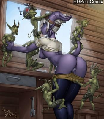 Porn Comics - Midnight Madness Sex Comic