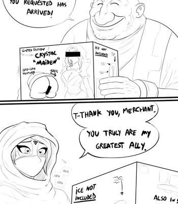 Porn Comics - Templar Assassin x Crystal Maiden Cartoon Porn Comic
