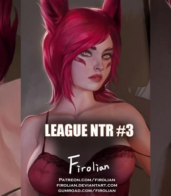 Porn Comics - League NTR 3 – Xayah Cartoon Comic
