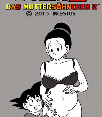 Porn Comics - Dragon Ball Z – Mama's Boy 2 Cartoon Comic