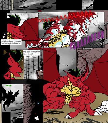 American Dragon Enslaved By Nega Porn Comic 002