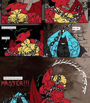 American Dragon Enslaved By Nega Porn Comic 003