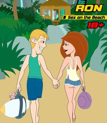 Porn Comics - Kim & Ron – Sex On The Beach Sex Comic