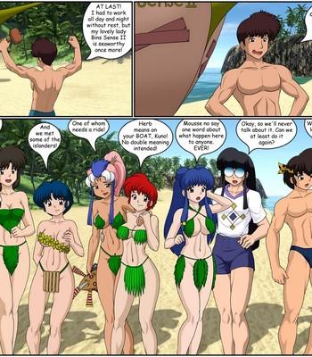 Summer Moon Porn Comic