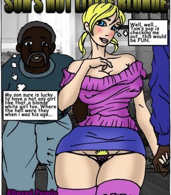 Porn Comics - Son's Hot Litlle Blonde Cartoon Porn Comic
