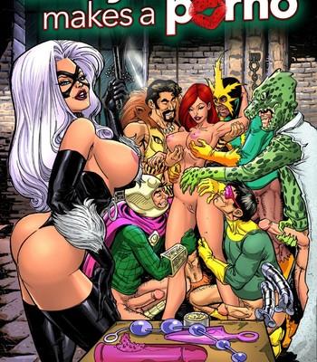 Porn Comics - Mary Jane Makes A Porno Porn Comic