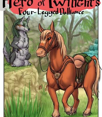 Porn Comics - Hero Of Twilight's Four-Legged Dalliance Cartoon Porn Comic