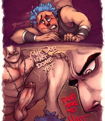 Sexy Mess Porn Comic 011